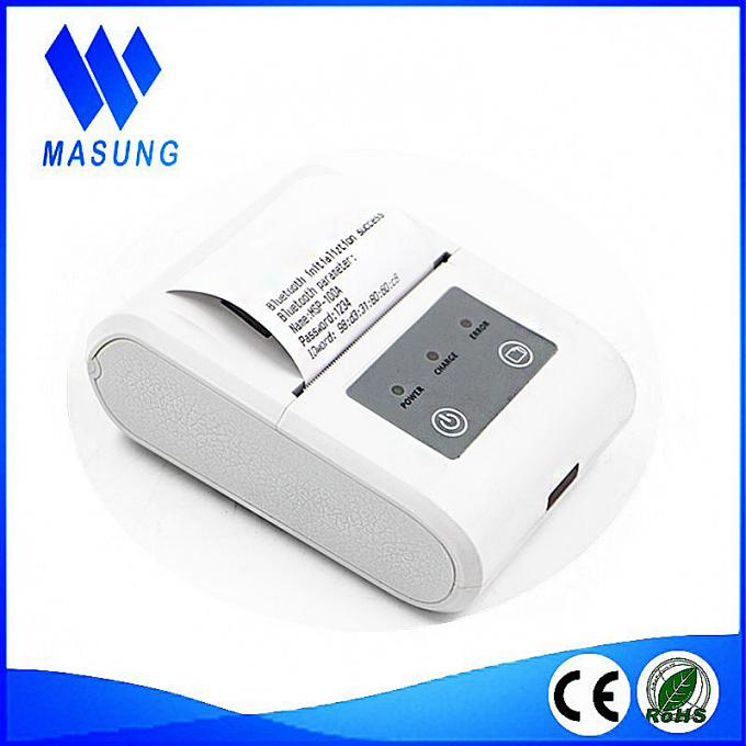 Bluetooth wireless receipt printer 2 inch mobile label printer for handheld
