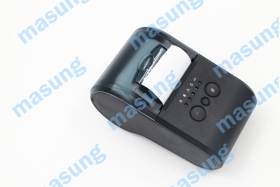 2600mAh Battery  USB Portable Thermal Printer  Easy Paper Loading