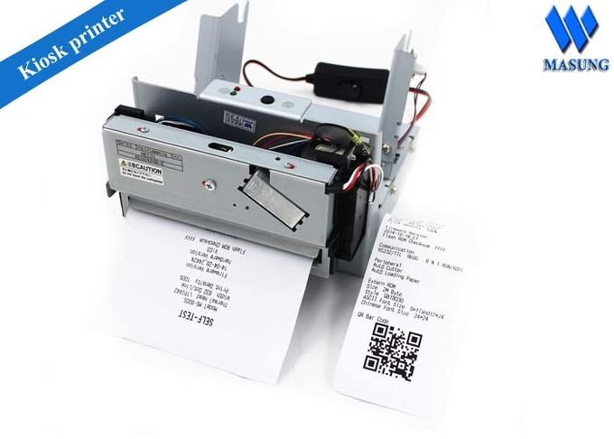 Compact High Speed Usb Kiosk Thermal Printer Receipt One Year Warranty